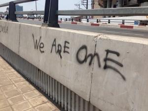 Graffiti is graffiti, no matter where in the world.
