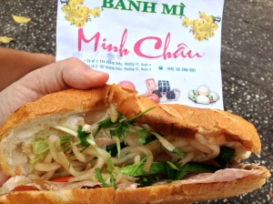 My first Banh Mi.
