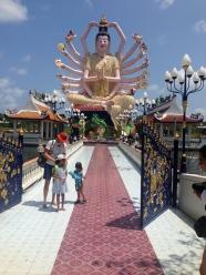 Guanyin at Wat Plai Laem.