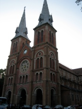 Cathedral Notre Dame in Saigon.